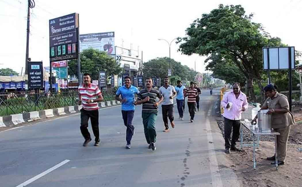 mini marathon for police