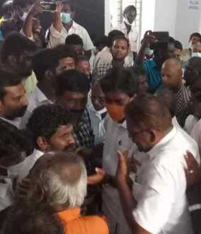 Virudhunagar Voter make trouble in casting vote