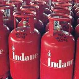 No change in cooking gas cylinder price !!