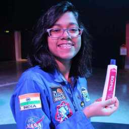 tamil girl in space travel mission