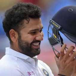 rohit sharma creates new record in test series