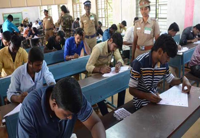 tamilnadu police examination 2019 held on today at 10.00am
