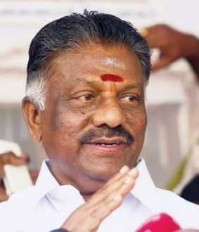 tamilnadu deputy cm admit at hospital