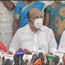 tamilnadu minister jayakumar press meet at chennai