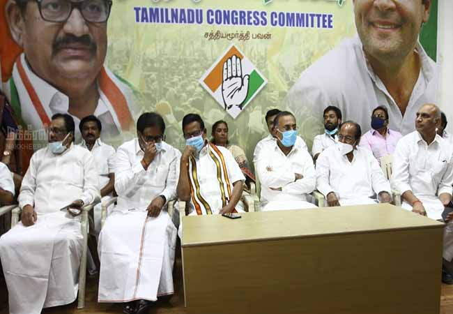 tn assembly election dmk and congress alliance discussion