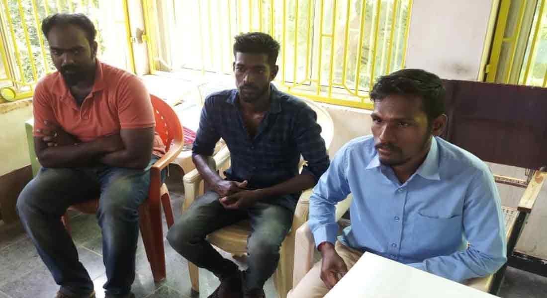 3 persons arrested for cheating in police exam