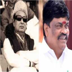 visel issue - MGR - ADMK Ministers