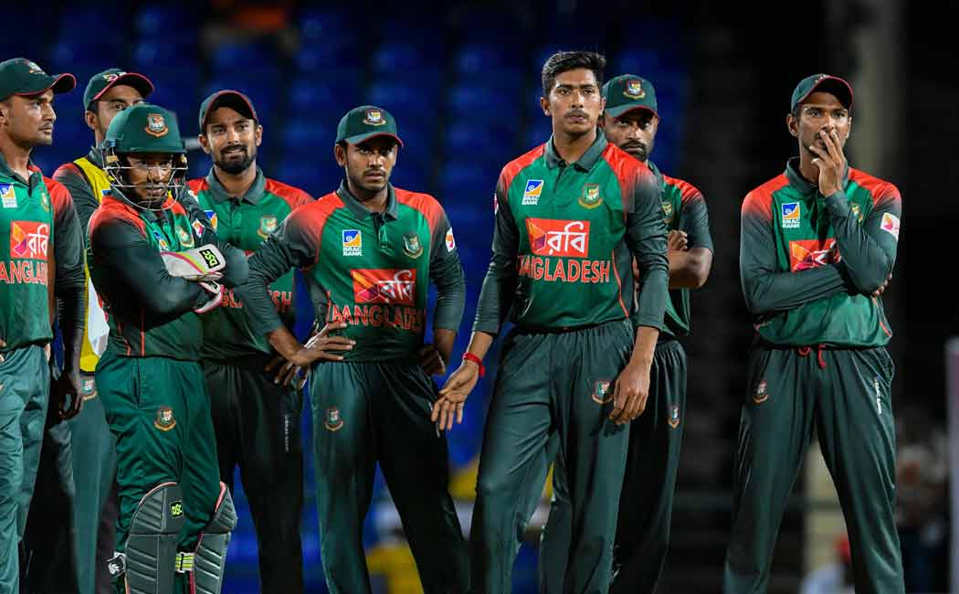 bangladeshi cricket players donated their half salary to corona prevention measures