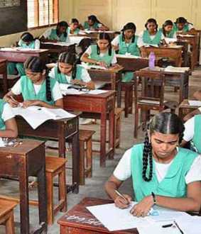 public exams 10th, +1, +2 students head master