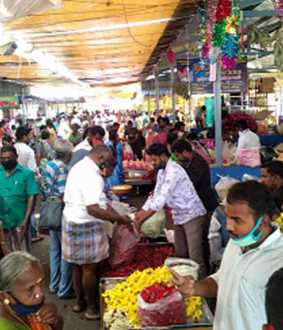 coronavirus positive cases salem district voc market closed