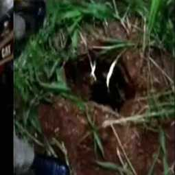 2 year old child trapped in deep well near Manapparai