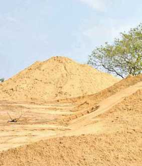 sand price President of the Tamil Nadu Sand Lorry Owners Association