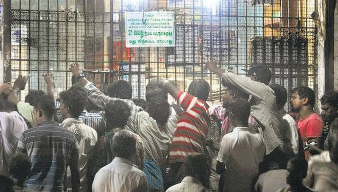 Chennai Collector's order to shut up liquor shops