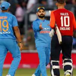 World Cup Cricket; 338 runs Destinations for India