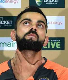 kohli emotional about his early career