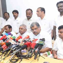 DMK PARTY RELATED ERODE GK VASAN SPEECH