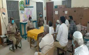 Cuddalore Police requested Muslims to celebrate bakrith at homes