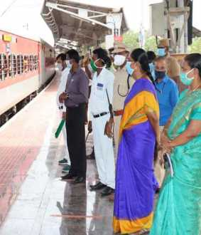 dindigul district migrant workers trains
