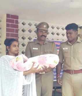Love marriage .. Mother in law kidnapped a one month old baby ..