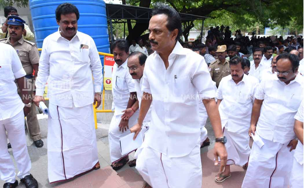 DMK They walked out of the assembly for NEET exam