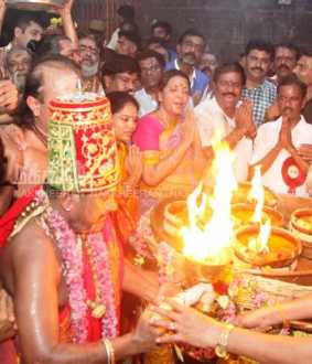 Thiruvannamali temple festival