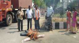 kamal Embodiment burn protest in vellore...