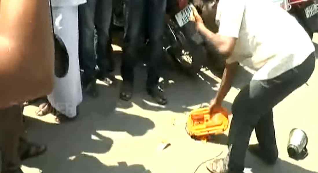 protest against the Power tariff hike in puducherry: