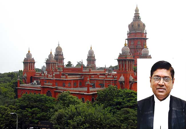 CHENNAI HIGH COURT JUDGE PROMOTION TO KERALA HIGH COURT CHIEF JUDGE