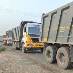 50 lorries checked Revenue, Police Action