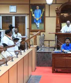 caa issue - puducherry assembly