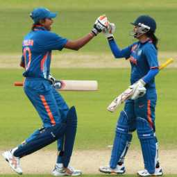 Mithali and Jhulan