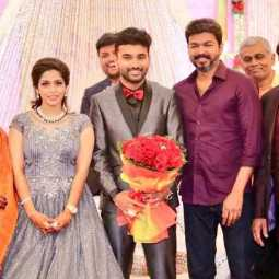 vijay at ramesh kanna wedding