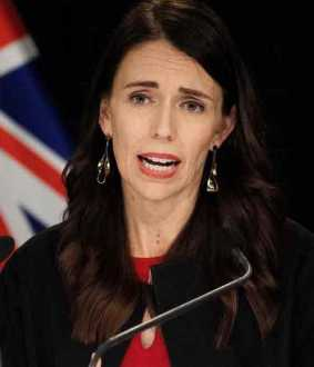 jacinda ardern about china's claim on australia