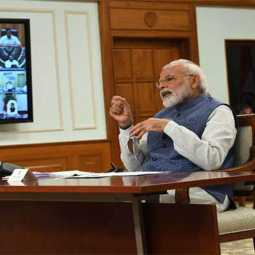 corona virus lockdown - PM Modi Video Conference With Chief Ministers