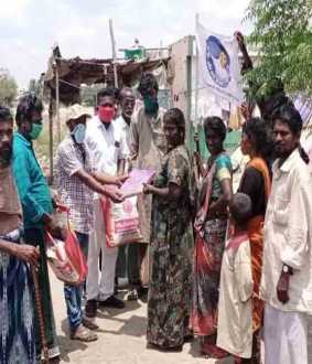 tamilnadu poor peoples helped actor vijay fan