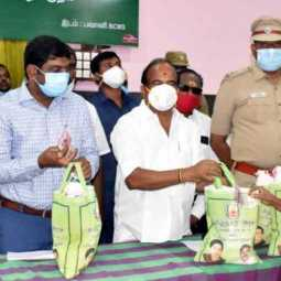 Pongal gift for ration card holders in erode