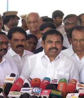 550 crores new project to fill Mettur Dam with lakes tamilnadu cm edappadi palanisamy said press meet