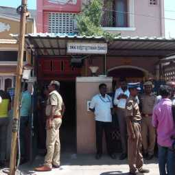 raid in kadambur raju's relative home