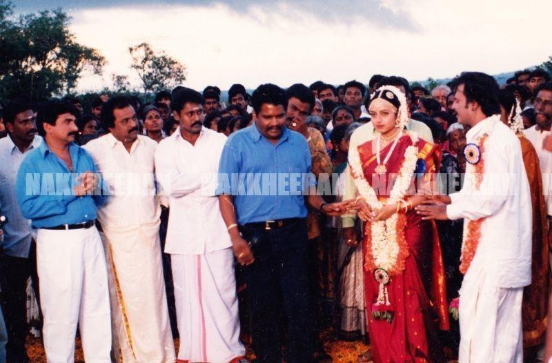 padayappa shooting