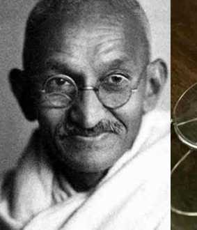 The nose glass of Mahatma Gandhi, which was auctioned for Rs 2.55 crore in Britain