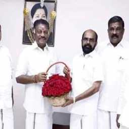 former minister pachaimal has joined the AIADMK!