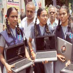 tn schools education has announced all govt schools give the laptops head master