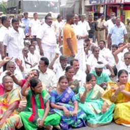Erode local body election - admk - dmk issue