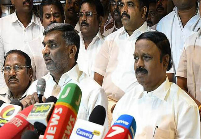 vellore lok sabha election team forming and list announced admk party