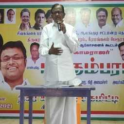 If you work for 100 days, you can create 200 volumes at the feet of Tamil mother - P. Chidambaram talk!