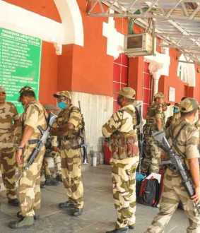 tamilnadu assembly election duty Central Industrial Security Forces in chennai