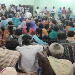 tenkasi new district peoples strike schools, colleges students not going institution