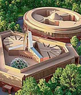 tata wins in bid to construct new parliament building