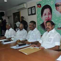 meeting at admk office