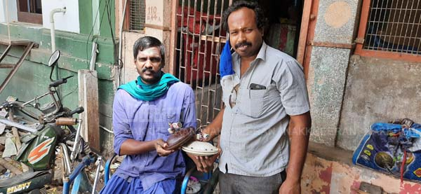fan Repair - Chidambaram government hospital - social activist